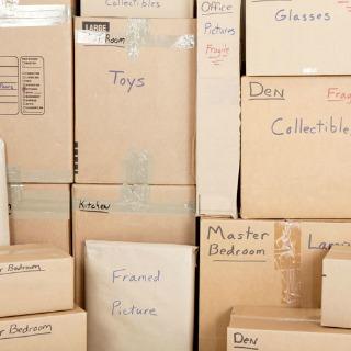 Label Box Items