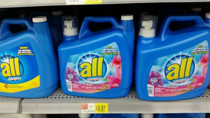All Tropics Laundry Detergent