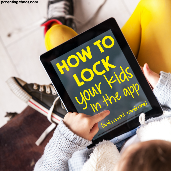 how to child lock iphone how to lock an or iphone app to prevent from 17106