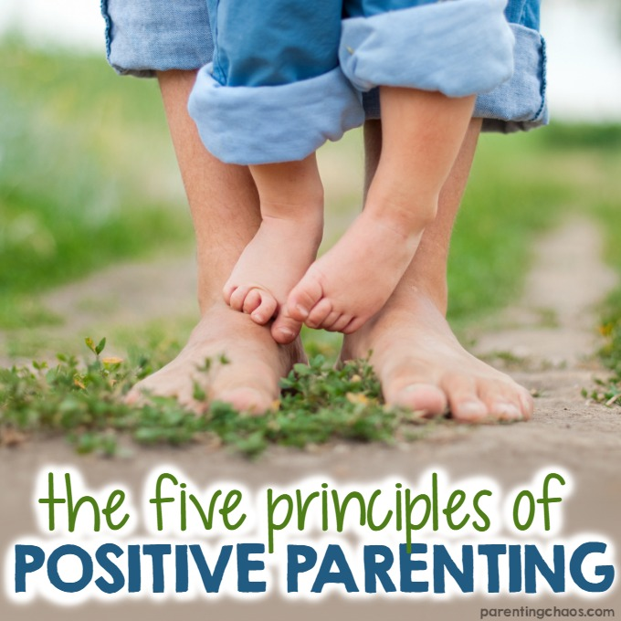 The Five Principles Of Positive Parenting Parenting Chaos