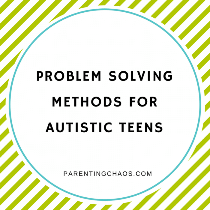 """A SECRET"" Problem-Solving Method for Adolescents with Sensory Struggles"