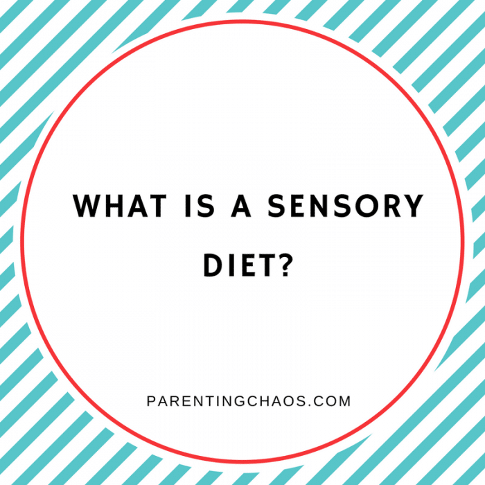 Create a Sensory Diet at Home