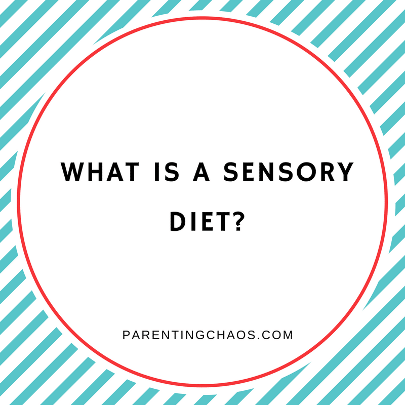 sensory diet how long does it last