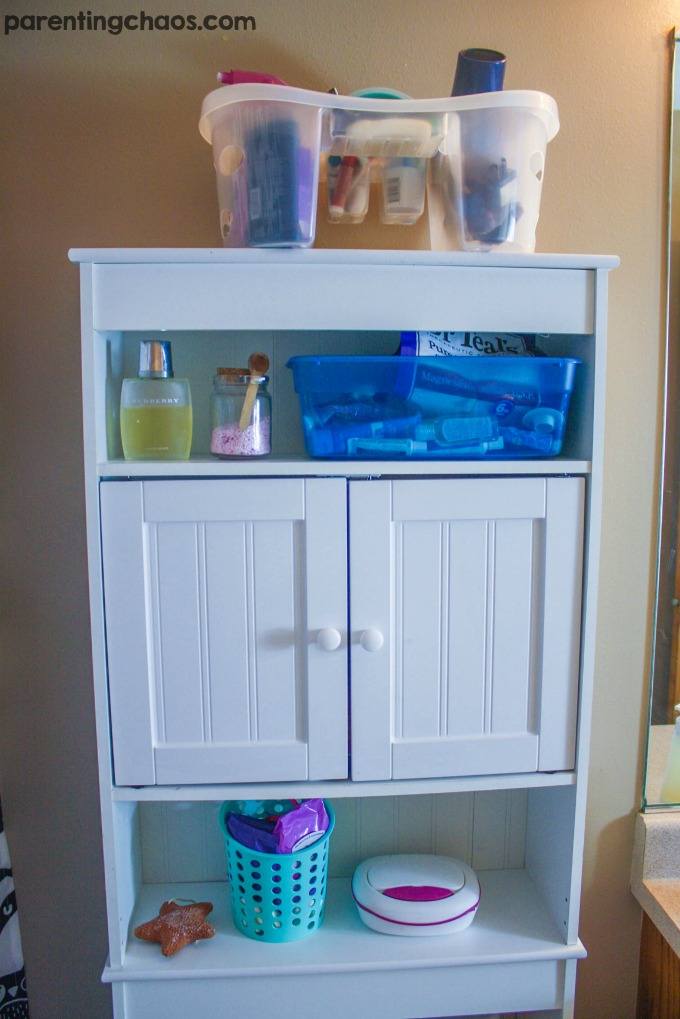 How To Organize A Small Bathroom For Back To School Page