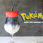 Kids will love this Dairy Free Pokémon Shake!