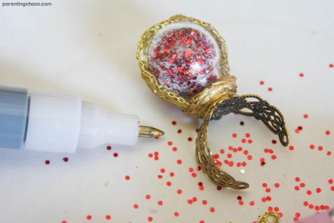 OMG! this DIY Remembrall Ring is the absolute cutest back-to-school accessory! My daughter can't wait to wear hers!