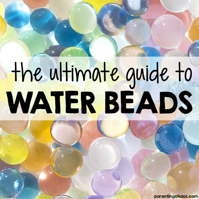 The Ultimate Guide to Water Beads