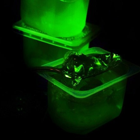 Glow in the Dark Jello