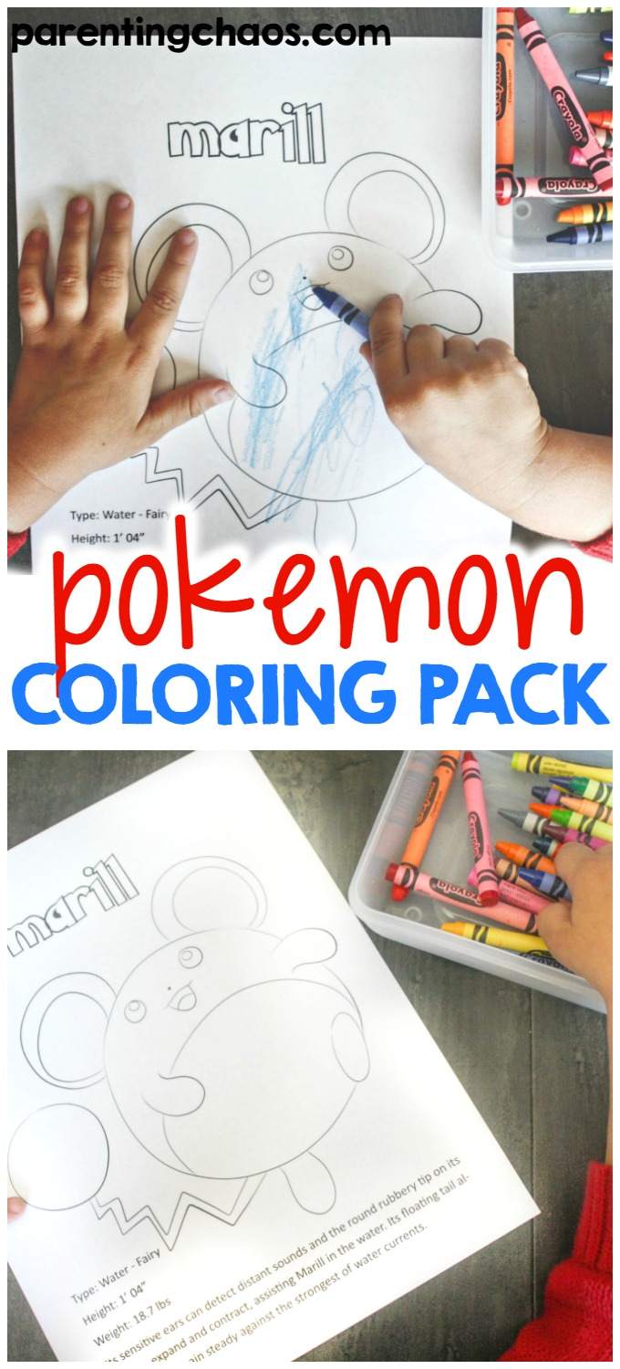 If your kids love Pokémon like mine, they're looking for Pokémon activities. I'm happy to introduce Pokémon coloring pages that were added to my shop!