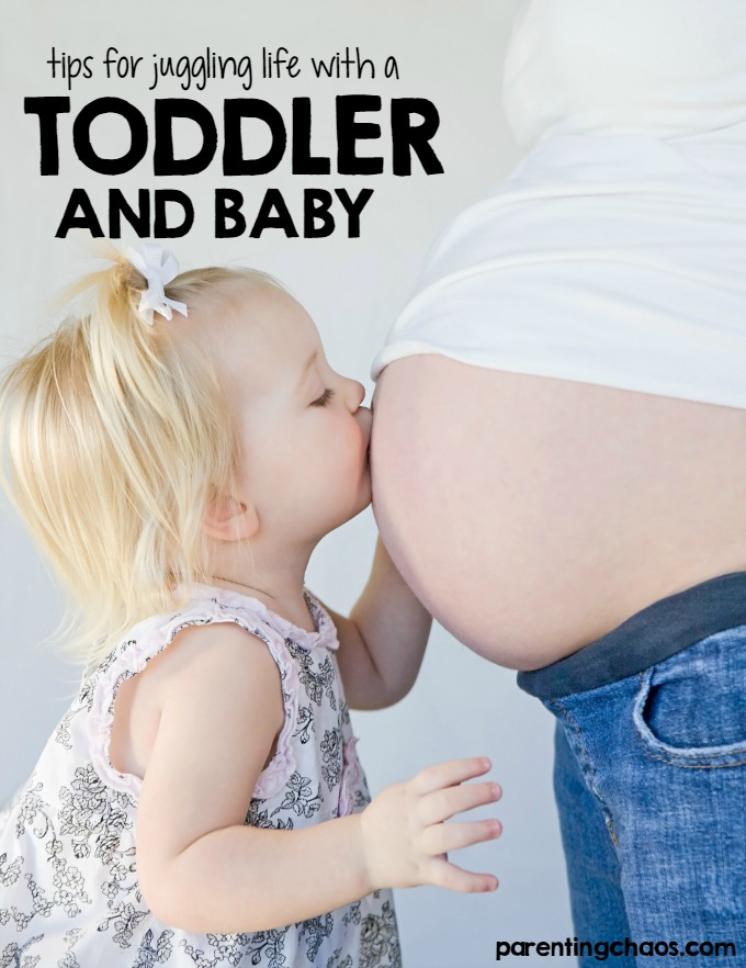 Tips for Juggling Life with a Newborn and a Toddler