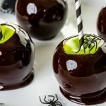 With a little bit of magic and a whole lot of spooky the Black Candy Apples are sure to win your child's heart this Halloween!