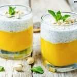 Chia pudding is the perfect afternoon snack for anyone. It's really good for you and this mango chia pudding is creamy, fruity, and quite delicious.