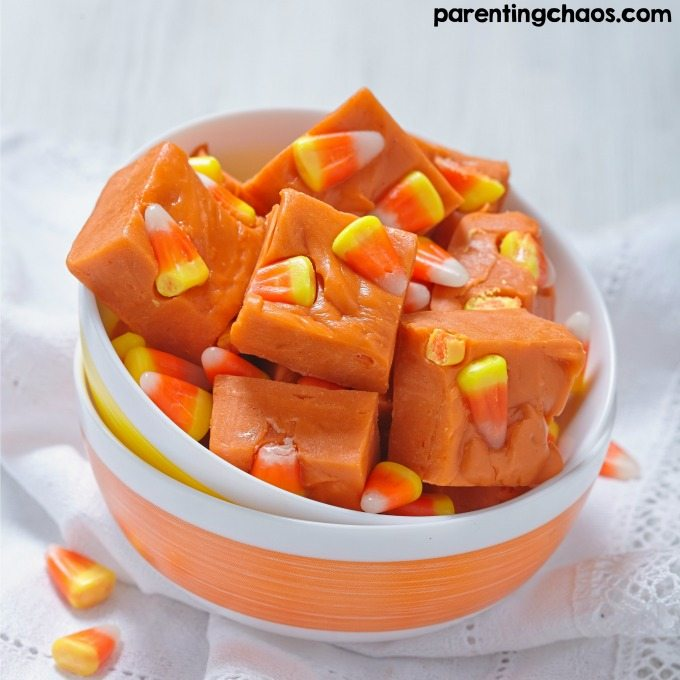 Halloween is such a fun time of year. If you're one that loves to eat candy corn by the bag full, you will love this candy corn fudge recipe!