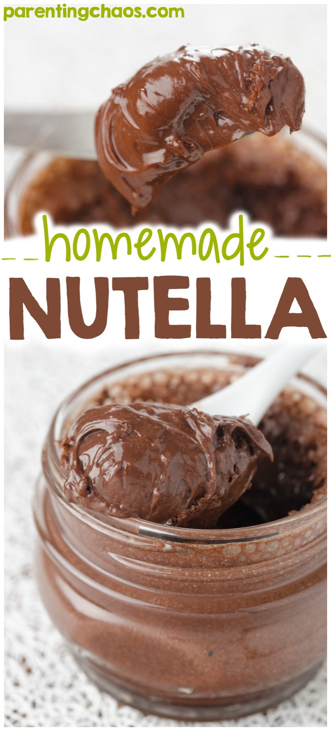 Hazelnut and chocolate is the most perfect flavor combination. If you're a huge nutella fan like I am, you're going to love this homemade nutella!