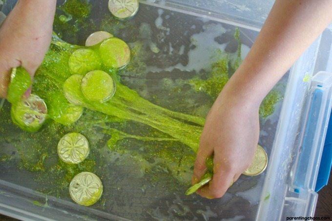 DIY Leprechaun Slime