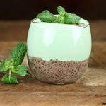 If you're having a serious craving for mint chocolate but not looking for a serious sugar overload, this chia pudding is the perfect treat for you.