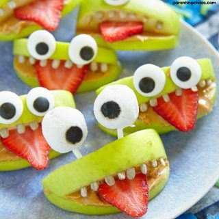 HALLOWEEN MONSTER APPLES