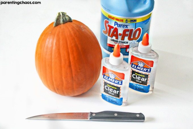The ever loved season of Halloween and pumpkins is creeping up on us. There's nothing more fun than using those guts for a pumpkin guts slime recipe!
