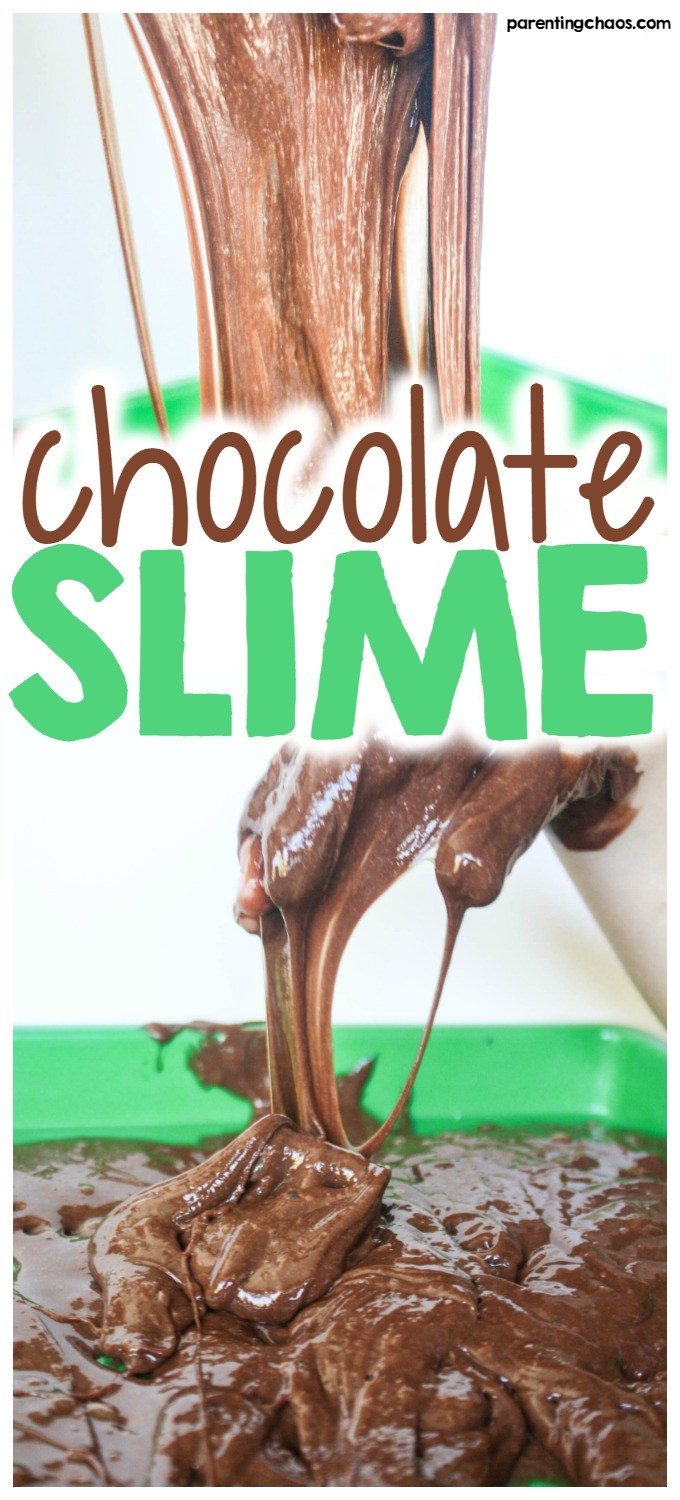 If your kids are like mine - they absolutely love chocolate anything. I promise you, they are going to go wild for this chocolate slime recipe!
