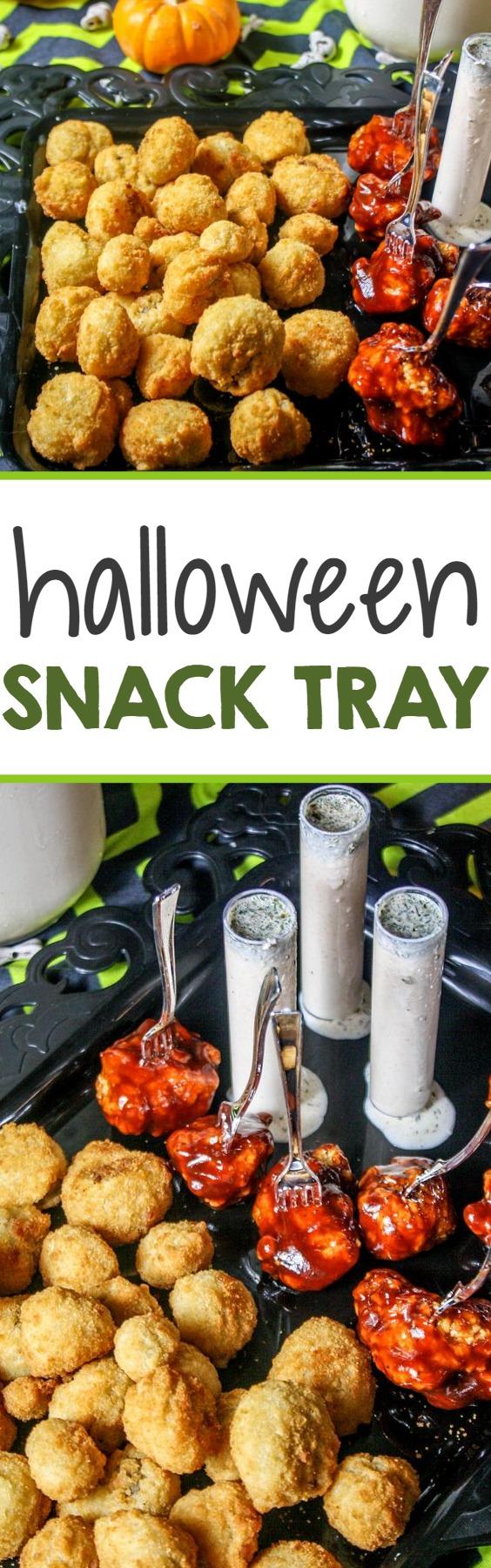 Easy Halloween Snack Tray