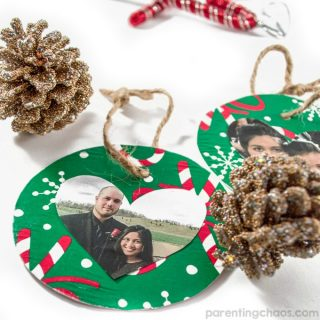 Easy Kids Made Christmas Ornament