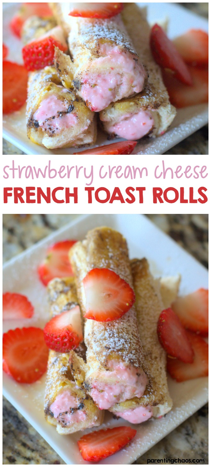 These Strawberry Cream Cheese Roll-ups Look Delicious!