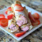 Strawberry Cream Cheese Rollups