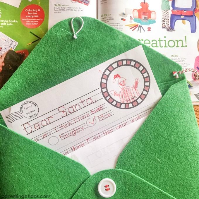 Dear Santa Printable Letter