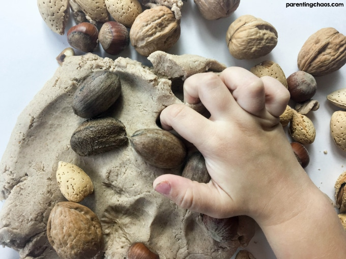 Easy Hazelnut Play Dough Recipe - Your Kids will LOVE this!