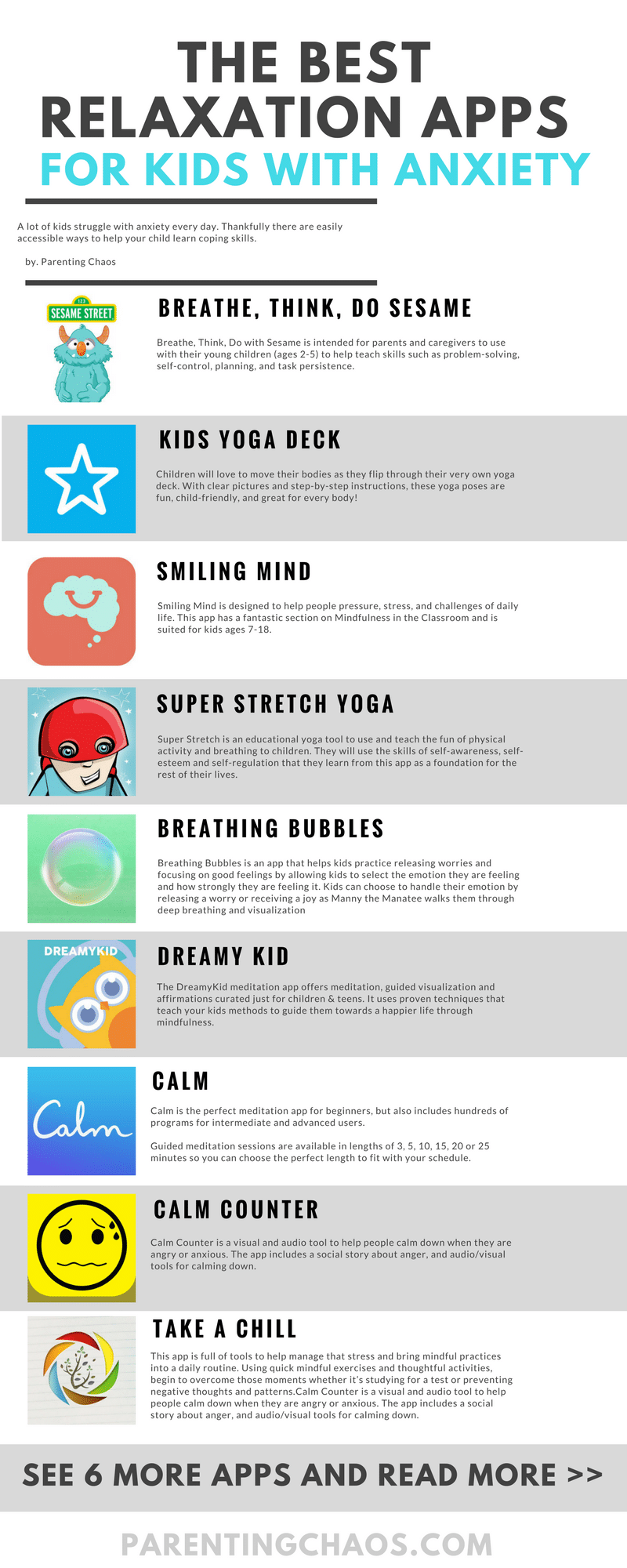 15 Apps for Kids with Anxiety