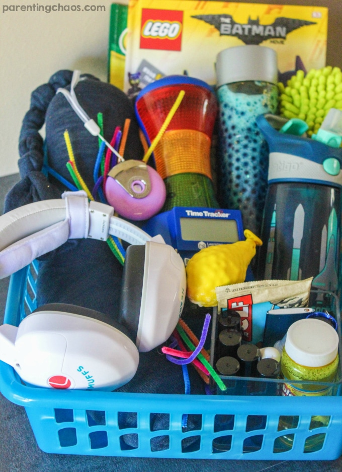 Calm Down Kit for Anxious Kids ⋆ Parenting Chaos