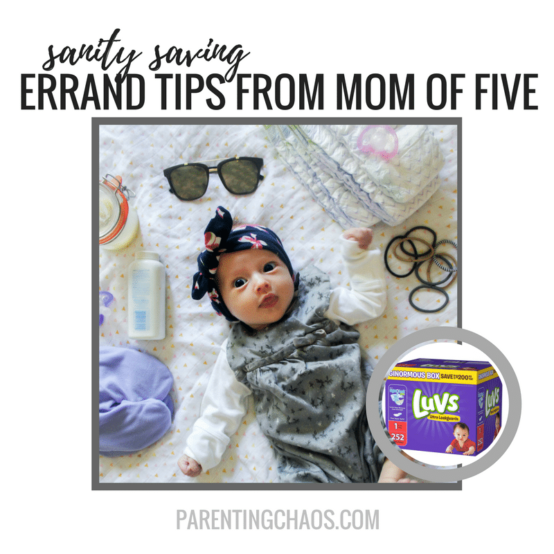 Save Your Sanity While Running Errands with These Tips From a Mom of Five