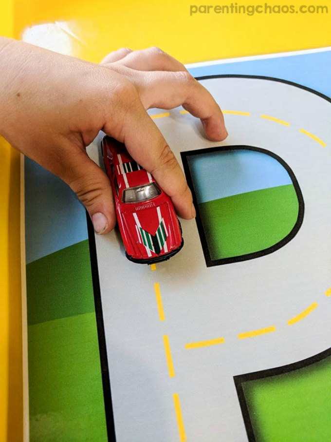 Printable Alphabet Roads