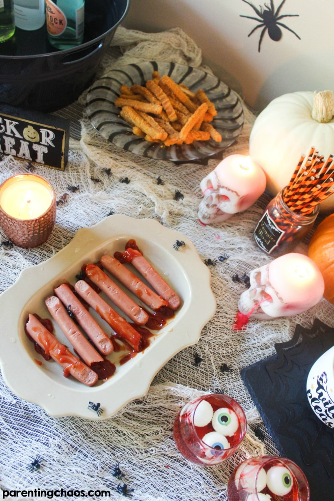 How a Busy Mom can create a Halloween Party for Adults too!