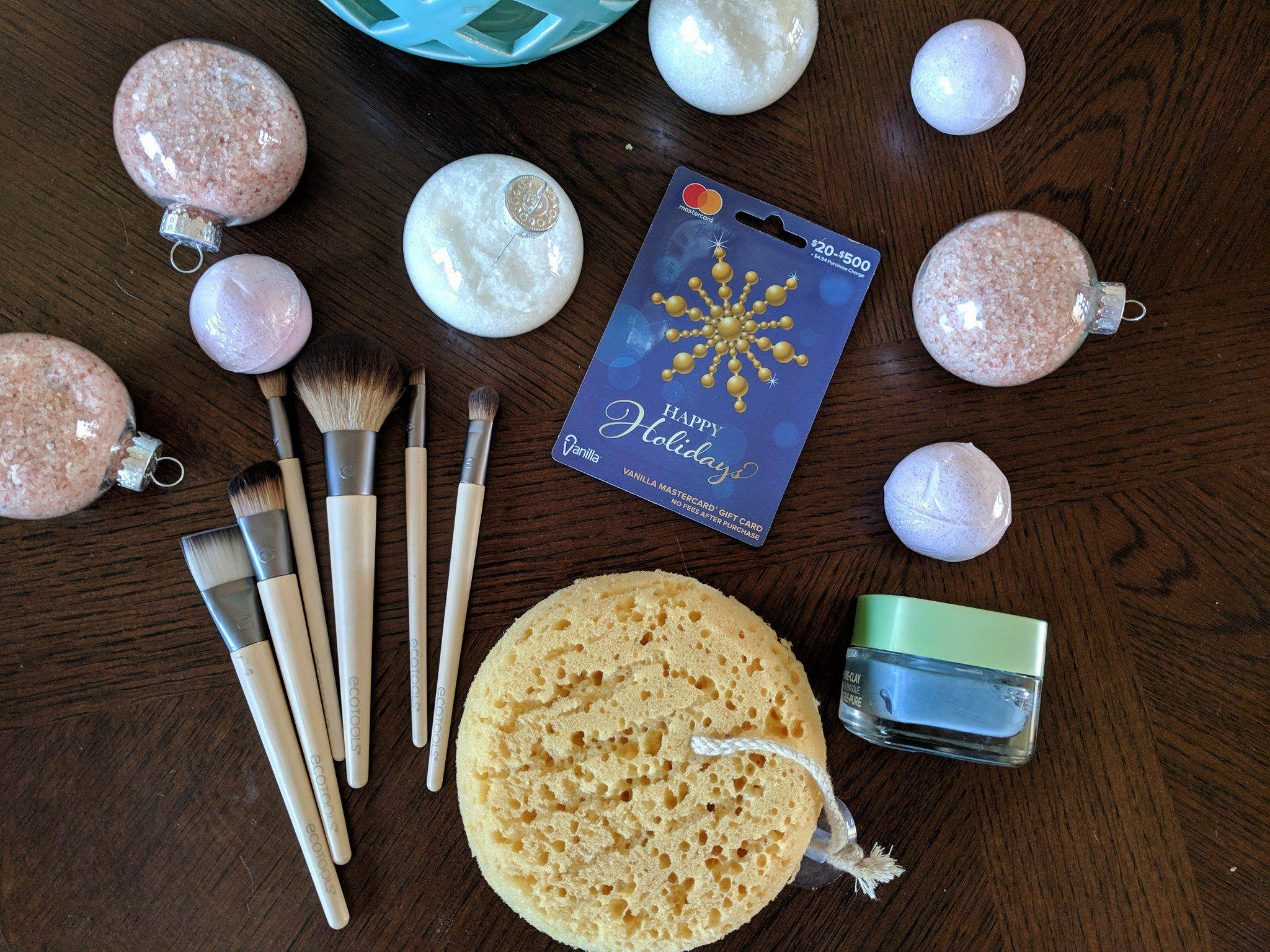 The Bath Salt Ingredients Were Easy To Pick Up In Cosmetic Section And Clear Ornaments New Holiday Hurricane Glasses Are One Of