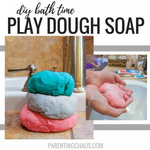 DIY Bathtub Play Dough