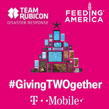 The T-Mobile #GivingTWOgether Phone Drive