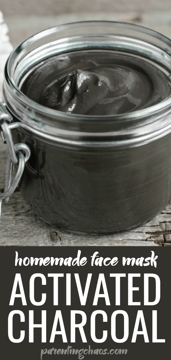 Homemade Activated Charcoal Mask