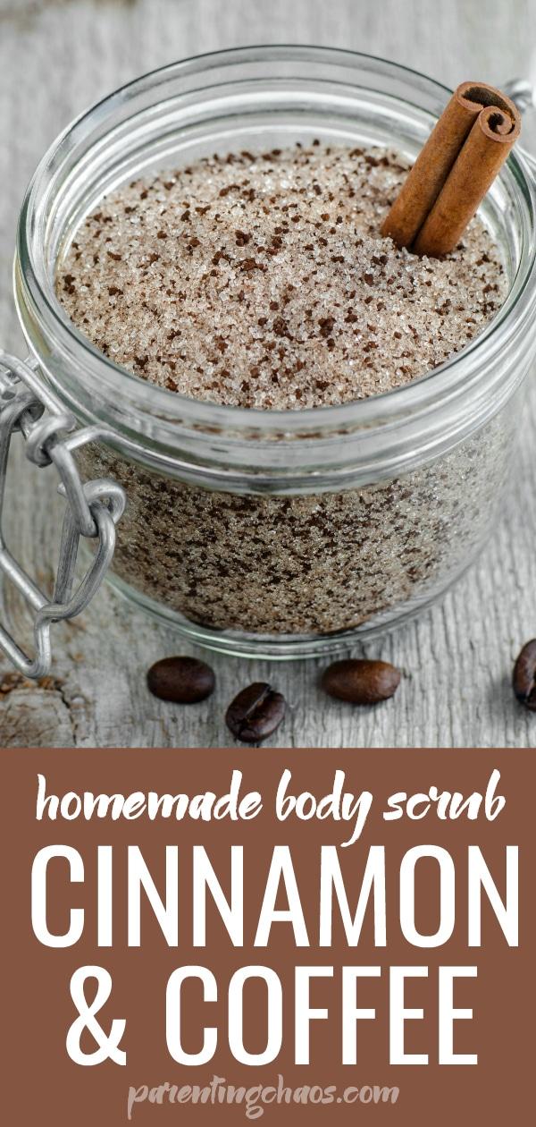 Homemade Cinnamon & Coffee Body Scrub