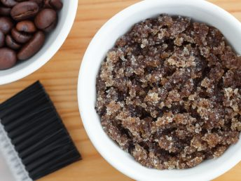 DIY Brown Sugar Coffee Body Scrub