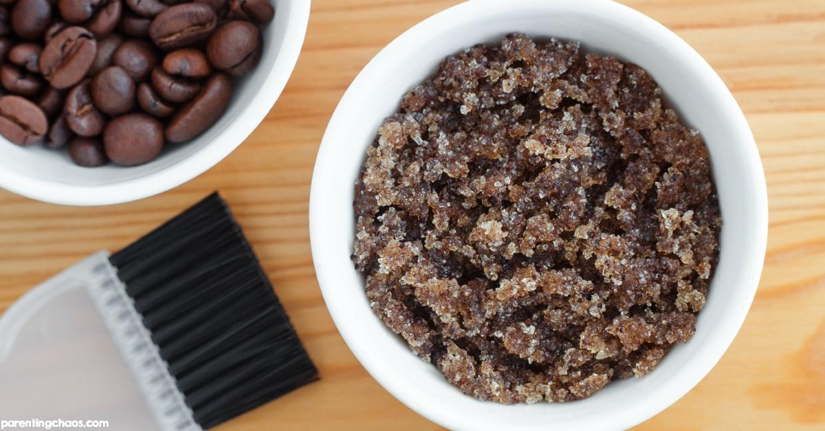 DIY Brown Sugar Coffee Body Scrub