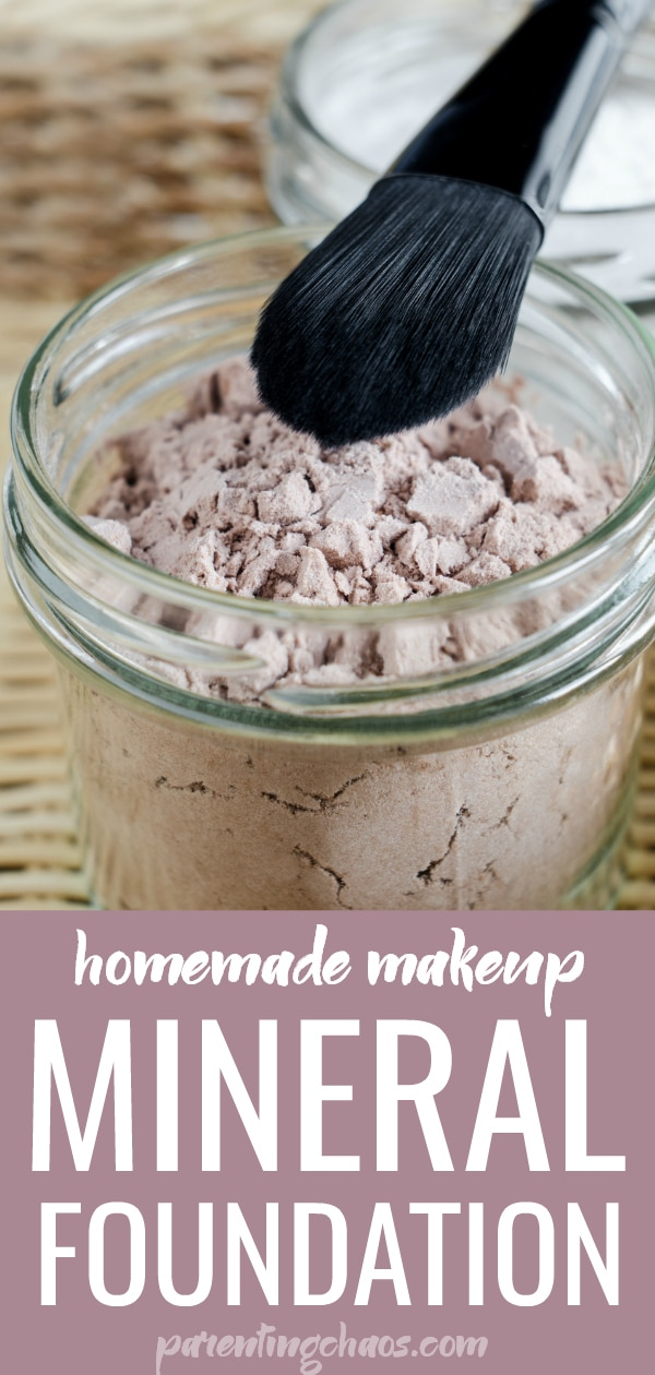 Homemade Mineral Foundation