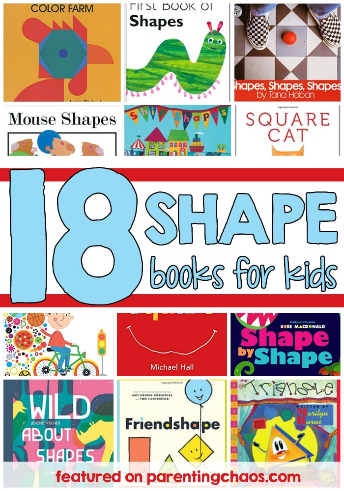 Shape Books for Young Kids