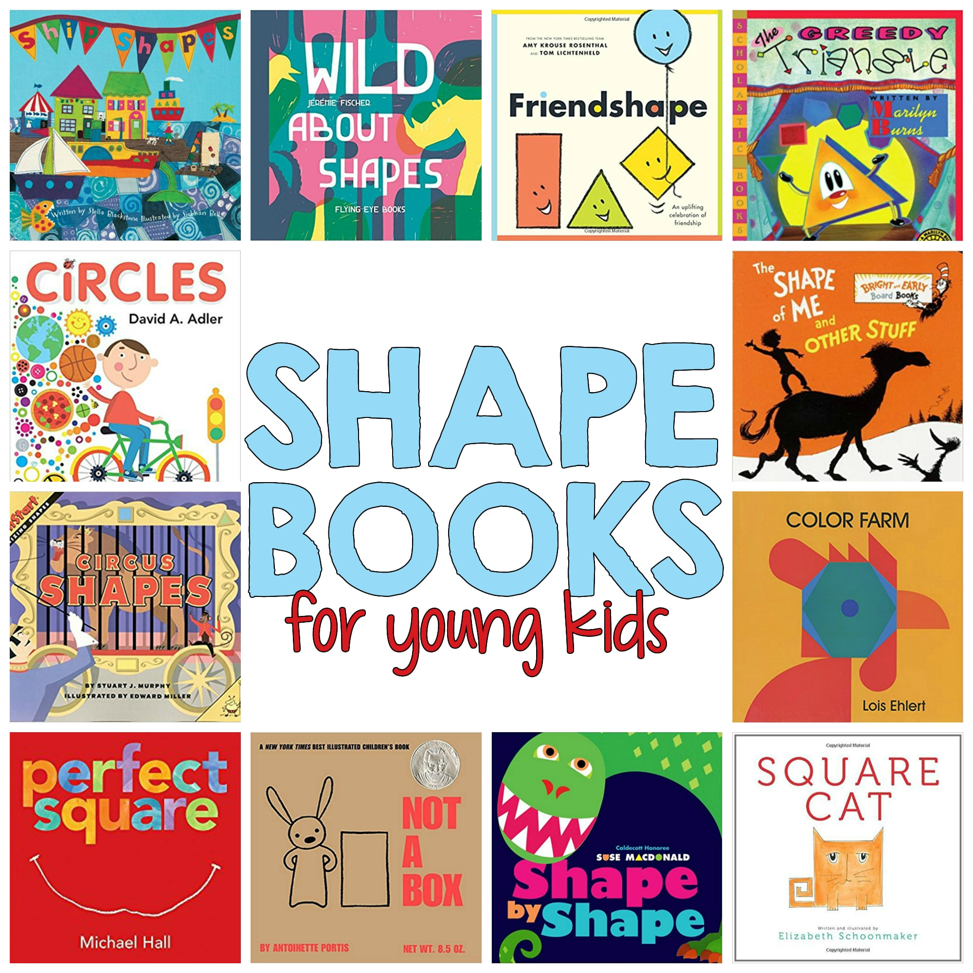 Shape Books for Kids