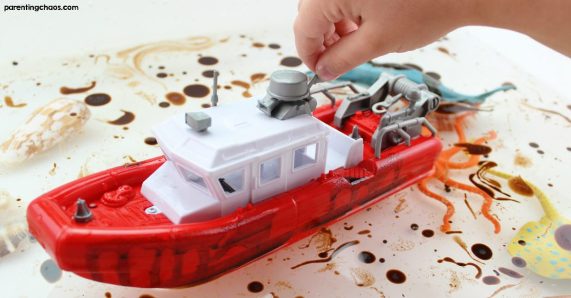 Ocean Pollution Science Activity for Kids