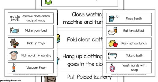 image relating to Free Printable Task Cards referred to as Totally free Unique Requirements Printables Archives ⋆ Parenting Chaos