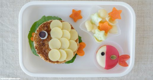 Fish Themed Food Art for Kids