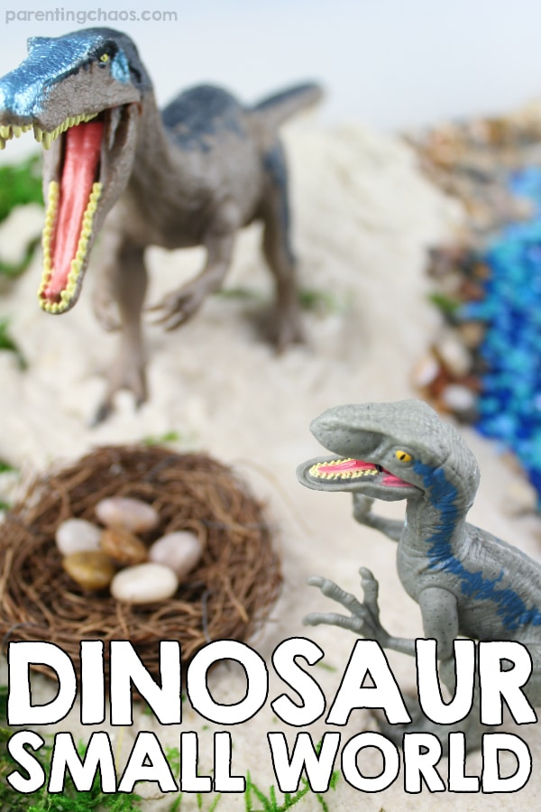 Dinosaur Small World Imaginative Play for Kids
