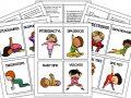 Dinosaur Yoga Kids Printable