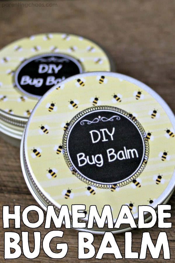 Homemade Bug Balm Essential Oils Recipe